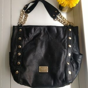 Michael Kors Large Leather Studded Tote